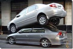 Stacked Car Crash